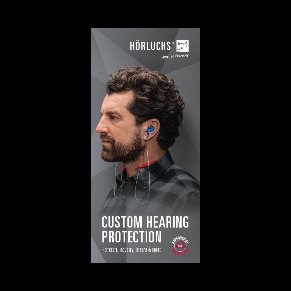 Flyer custom hearing protection
