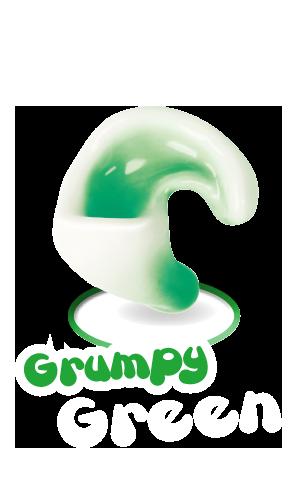 Grumpy Green Kinderotoplastik
