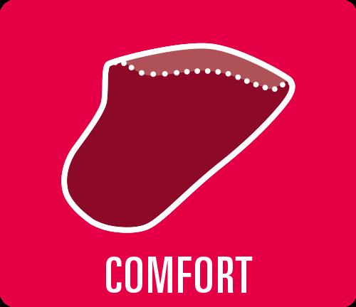 "Earmould option type ""Comfort"""
