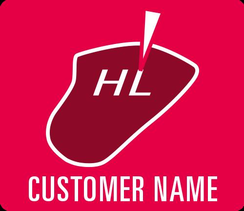"Earmould option ""Customer name"""