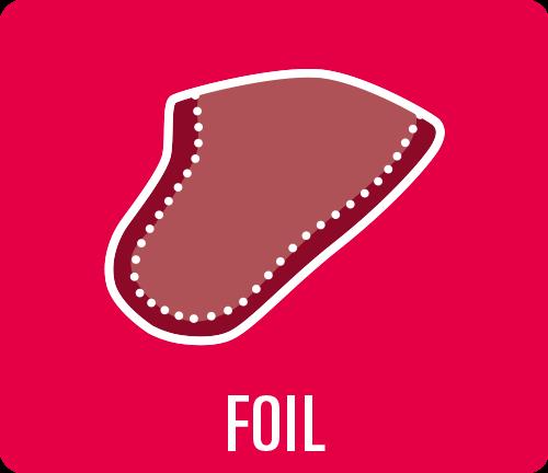 """Earmould option type """"Foil"""""""