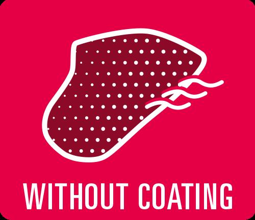"Earmould option ""Without coating"""