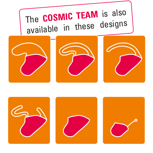 Cosmic Team Earmould Designs