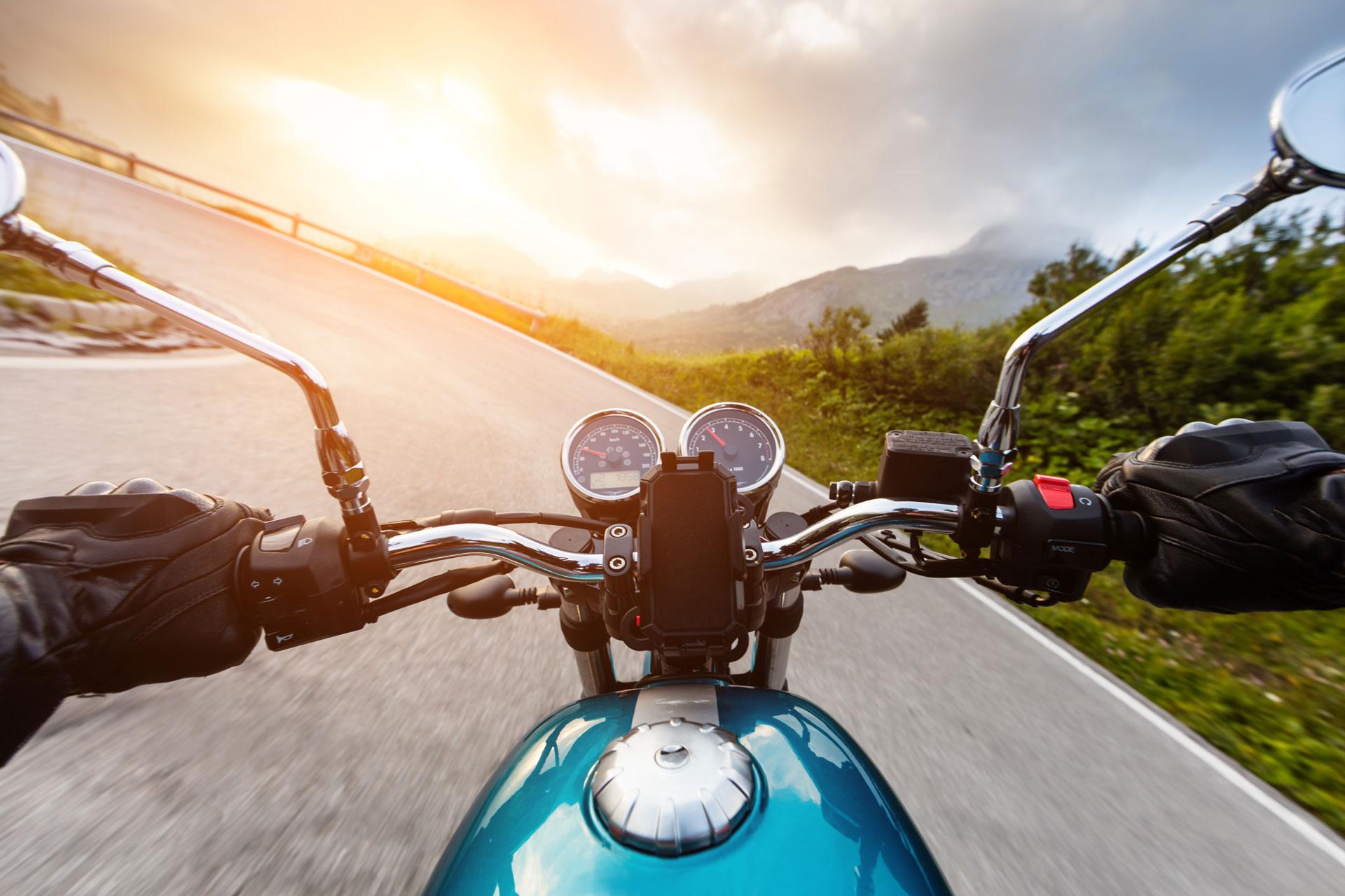 Gehörschutz für Motorrad-Fahrer