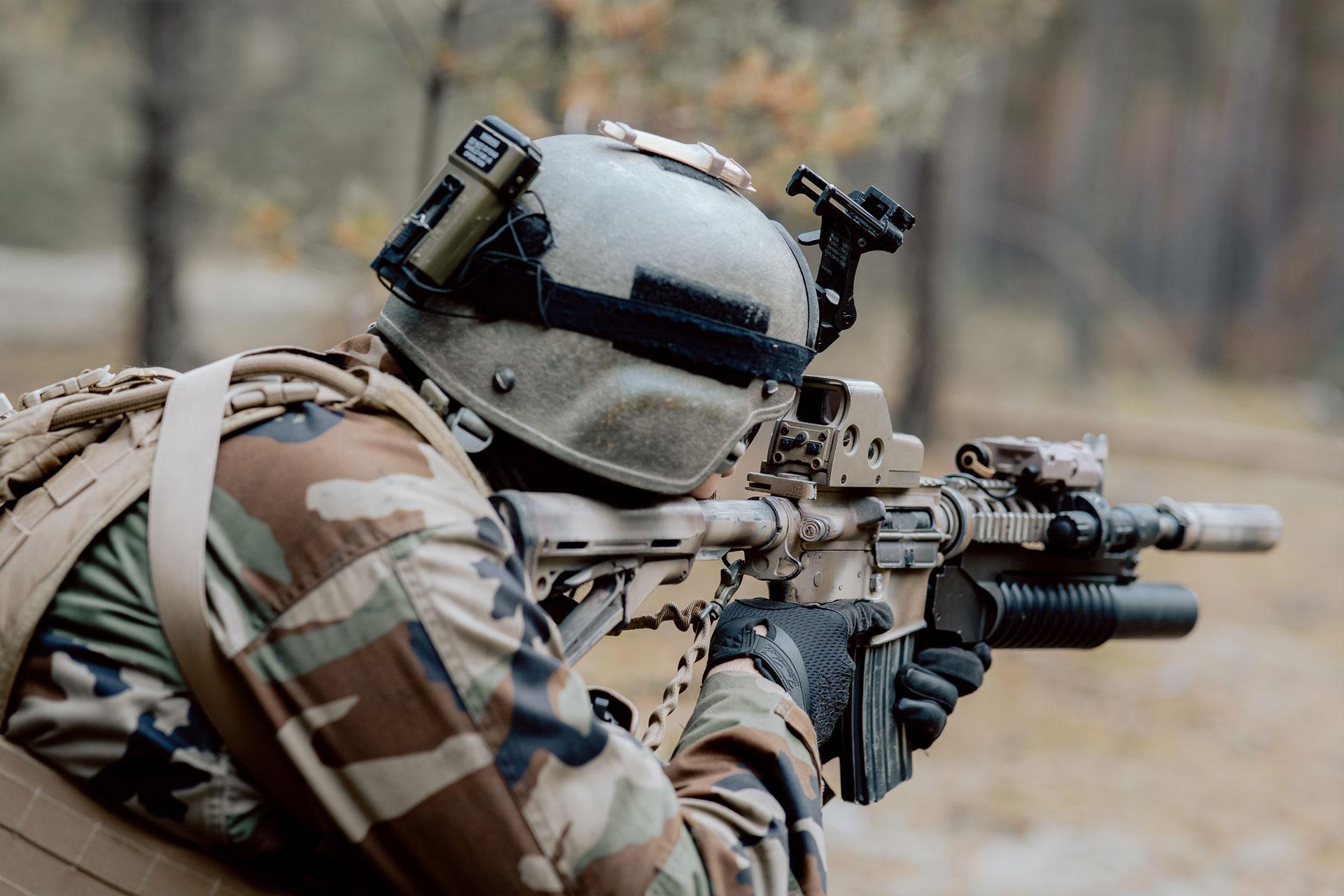 Gehörschutz für Militär