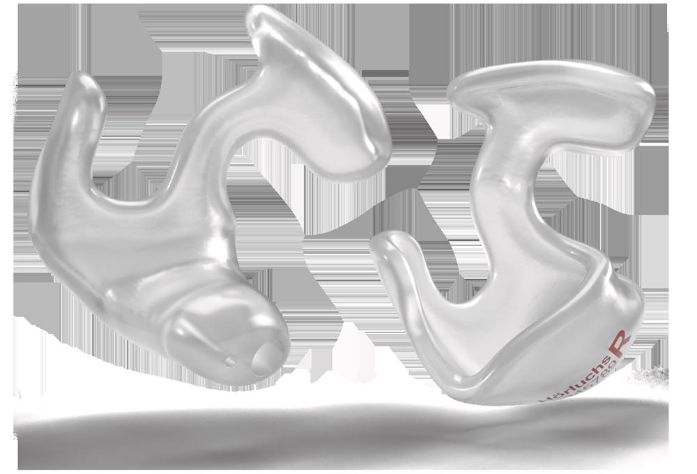 Otoplastik-Bauform Kralle