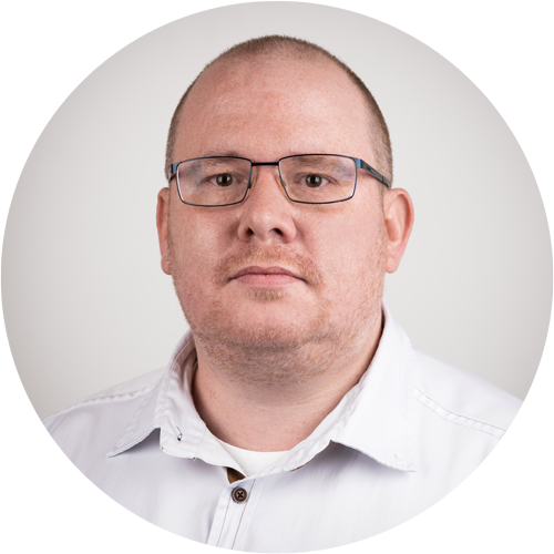 Martin Schübert - Team leader modelling earmoulds / hearing protectors