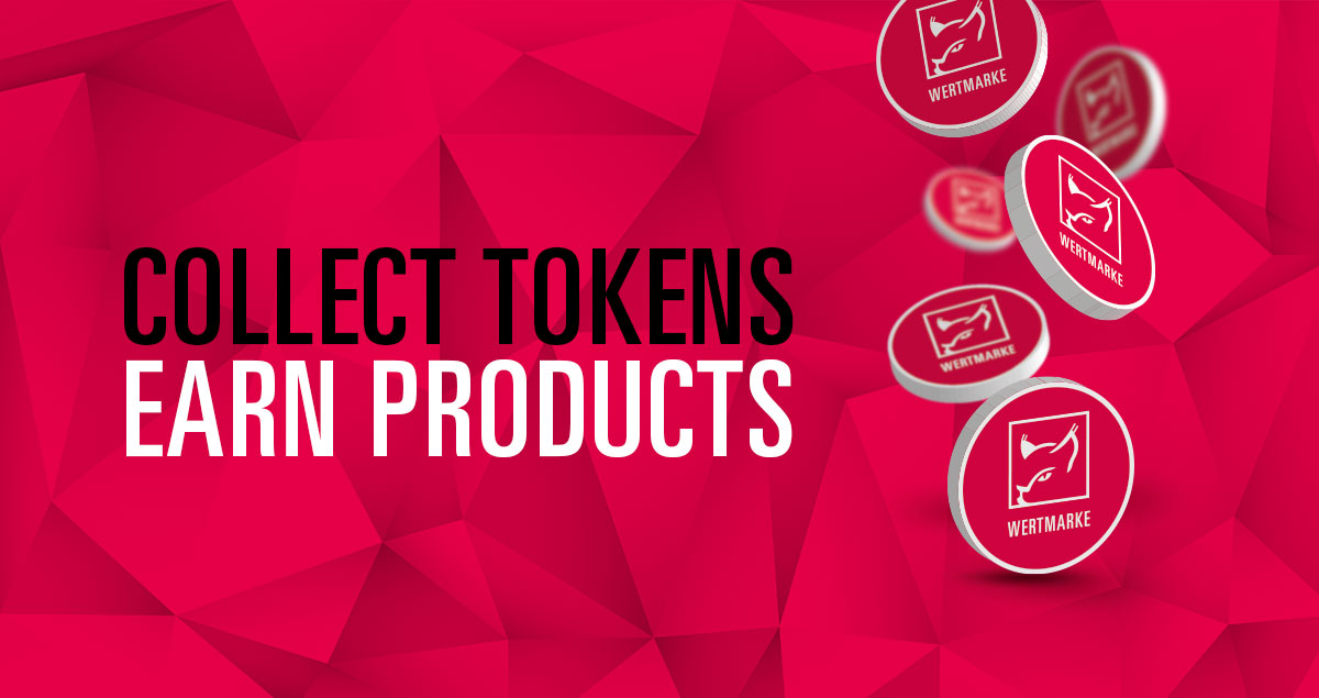 Collect tokens, earn produts