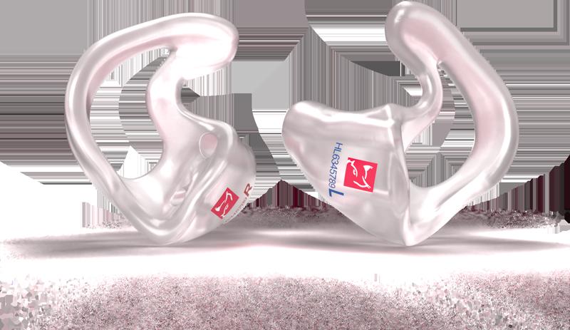 Ring-Otoplastik mit Hörluchs® Logo