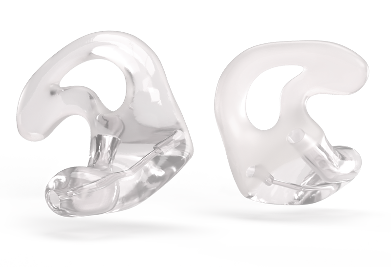 Otoplastik-Veredelungs-Art Teilverglasung